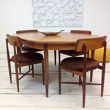 Mid Century TEAK DINING TABLE and CHAIRS, G Plan, FRESCO range DANISH style