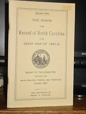 Five Points In The Record of North Carolina In The Great War Of 1861-65 75th N.C