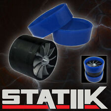 AIR INTAKE FAN SUPERCHARGER TURBO GAS FUEL VORTEX KIT SAVER S2