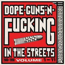 Dope Guns & F**king In The Streets:1988-98 - Various A (2016, CD NEUF)2 DISC SET
