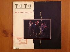 TOTO / 1984 vinyl 45rpm single / HOW DOES IT FEEL