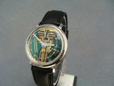 1970  BULOVA ACCUTRON 214 SPACEVIEW - STAINLESS STEEL