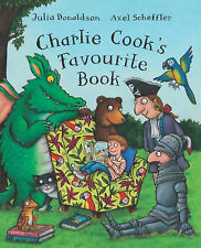 NEW  CHARLIE COOK'S FAVOURITE BOOK  A4 HARDBACK by Julia Donaldson Gruffalo