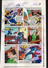 Original 1983 Captain America 284 page 7 Marvel color guide art:S Buscema/1980's