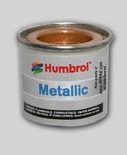 GOLD METALLIC  HUMBROL Enamel Model Paint - 14ml Tin #16