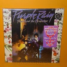 1984 PRINCE AND THE REVOLUTION - PURPLE RAIN LP ALBUM VINYL RECORD POSTER SEALED
