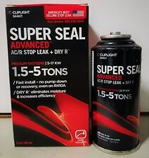 Super Seal Advanced w/ DRY R, Seals & Prevents Leaks in A/C & Refrigeration, 3oz