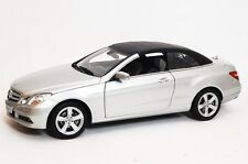 NOREV 2010 MERCEDES E CLASS COUPE CABRIOLET SILVER (DEALER) 1:18 Almost Sold Out