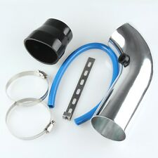 3'' / 75mm Car Cold Air Intake Induction Pipe Filter Tube System Universal Fit
