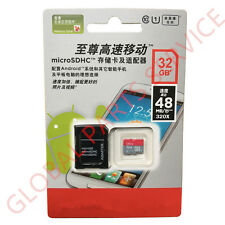 Micro SDHC Flash Memory Card 32G 48M/S Class10 Micro SD TF Card With Adapter