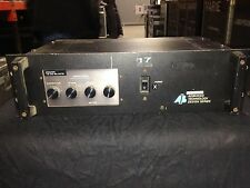 AB International Model 8120 Monorual Tri-Amp Power amplifier