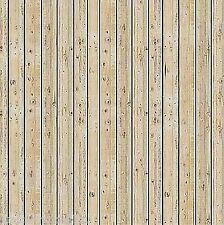 (1m²=32,02€) BUSCH 7419 H0 2 Dekorplatten, Holzbretter, hell, 210 x 148 x 0,6 mm