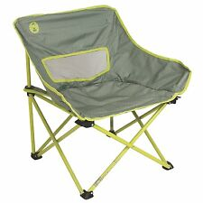 Coleman 26-Inch Cooling Mesh Portable Kickback Breeze Chair, Lime | 2000020308