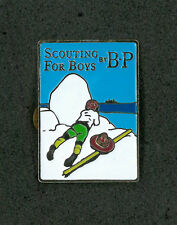 SCOUTS OF JAPAN (NIPPON) - SCOUTING FOR BOY by BADEN POWELL SCOUT SCARF WOGGLE A