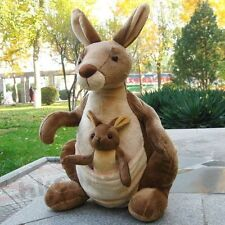 CUTE Mother Kangaroo and baby stuffed animals soft toys plush dolls 26 CM NEW