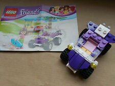 NEW LEGO FRIENDS PURPLE BEACH BUGGY & INSTRUCTNS ONLY NO MINIFIGS FROM SET 41010