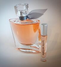 LA VIE EST BELLE LANCOME .33OZ 10ML ATOMIZER EAU DE PARFUM SPRAY SAMPLE PERFUME