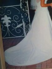 Beautiful Wedding dress with Tiara  and veil in preserved storage box (EUC)