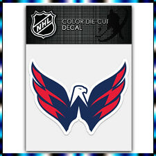"Washington Capitals NHL Die Cut Vinyl Sticker Car Bumper Window 3.1""x4"""