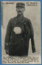 CPA MAROC: Le Sergent PANTHER, blessé au Combat de NEKHILA /1° Régiment Etranger