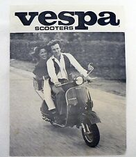 VESPA SCOOTERS BROCHURE FROM RO-MO SALES ROCHESTER MINNESOTA