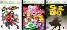 burger king xbox 360 video game set (3 games)