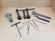 Cnc Lathe Milling Machine Service Tools, T Handle Wrenches, Spanner wrenches...