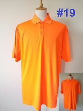 *UA Under Armour Mens Golf Polo Heat Gear Loose Fit Shirt Embroidery XL 2XL 3XL