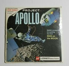 1964 View-Master PROJECT APOLLO B658 3 Reel Set