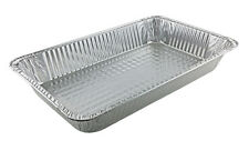 Handi-Foil Full-Size Deep Aluminum Steam Table Pan 50/PK -Disposable Party Trays