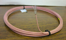 25 feet 20 AWG Silver Plated Cross-Linked ETFE  Wire Pink 19 strands