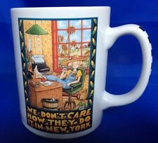 Mary Engelbreit We Don't Care How They Do It In New York Mug Coffee Tea Cup ME