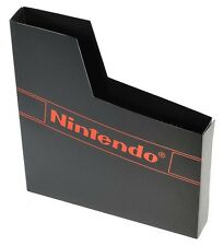 Nintendo NES Game Dust Sleeve/Cover [Black, with Logo]