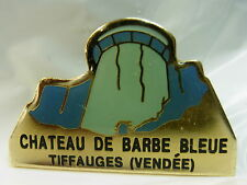 Chateau de Barbe Bleue Tiffauges (Vendee) used Hat Lapel Pin Tie Tac HP1154
