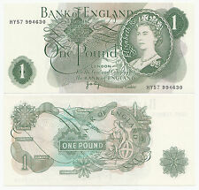 One Pound Notes J B Page - All at least almost uncirculated condition plus