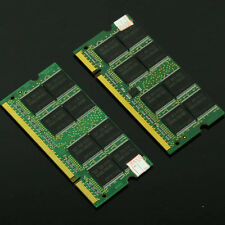 2GB 2x 1GB DDR PC2100 DDR266 200pin Sodimm 266Mhz Notebook Laptop Memory NON-ECC
