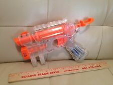 Nerf N Strike EX-3 Night Finder Clear Pistol with working targeting light