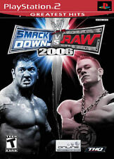 WWE Smackdown vs. Raw 2006 (Greatest Hits) PS2 New Playstation 2