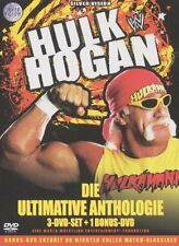 WWE Hulk Hogan Ultimative Anthologie Orig 3 DVD Set + Bonus DVD WWF Wrestling