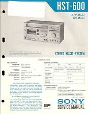 Sony  Original Service Manual für  HST- 600
