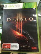 Diablo III 3 XBox 360