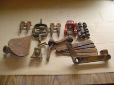 Lot of Vintage STEAMPUNK Iron Parts for salvage junk art farm implement etc tool