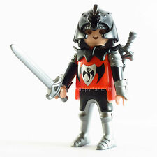 Playmobil Medieval Dragon Knight Figure - Castle Warrior, Armor Swords Helmet