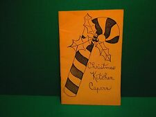 Vintage Christmas Kitchen Capers Recipes Cookbook
