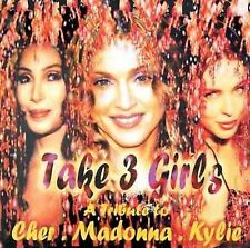 Take 3 Girls: A Tribute to Cher, Madonna and Kylie, New Music