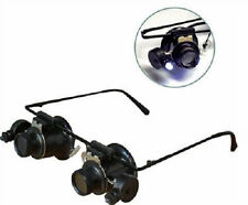 10x Dual LED Loupes on Eye Glass Frame