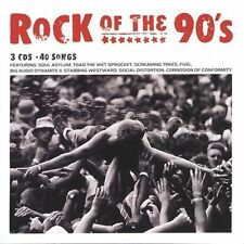 Rock of the 90's [Sony 3 Pak] [Box] by Various Artists (CD, Aug-2004, 3...