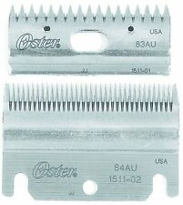 Oster Clipmaster Stewart Clipper Blade Combo Set Pack 83AU/84AU 78511-126