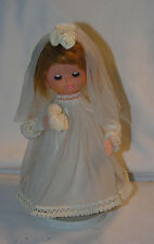 Vintage 1960s Japan Here Comes The Bride Musical Angelic Face Doll