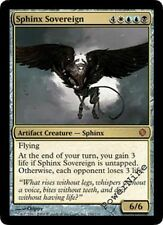 1 PLAYED Sphinx Sovereign - Gold Shards of Alara Mtg Magic Mythic Rare 1x x1